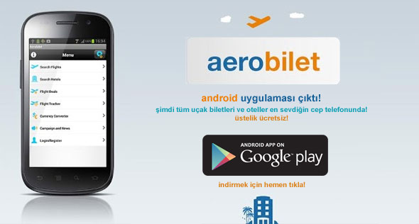 Aerobilet android app has just been released! Click here!